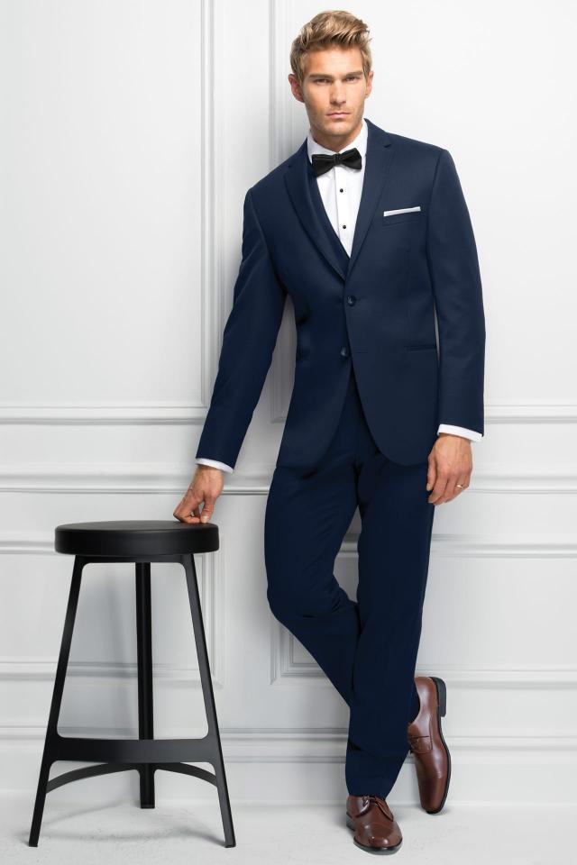 Wedding Suit Navy Michael Kors Sterling 371 1
