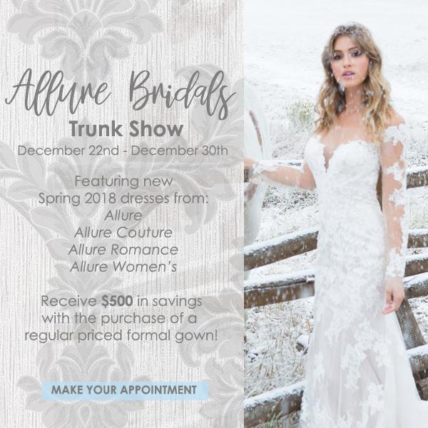 atlas bridal shop, allure bridals