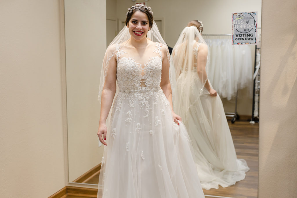 wedding accessories, atlas bridal shop, Toledo